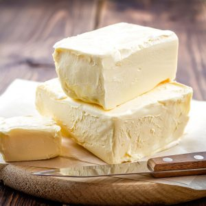 The benefits of cow's milk butter