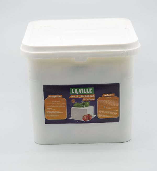 Vegetable fat feta cheese 10 kg 1