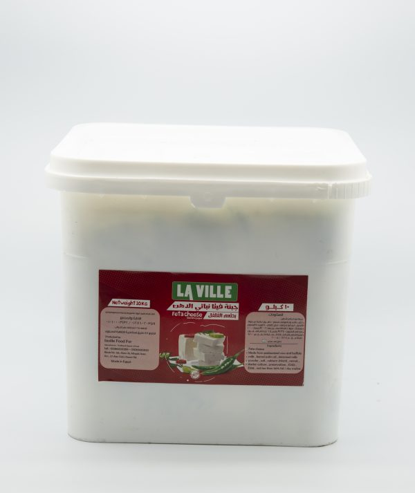 Vegetable fat feta cheese with pepper flavor 10kg 1